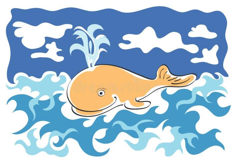 whale01 免版税库存照片