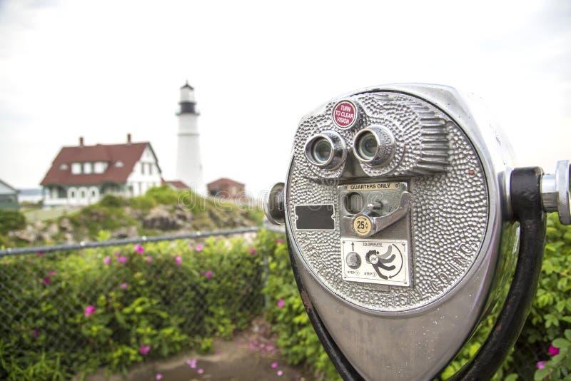 Whaleback Leuchtturm lizenzfreie stockbilder