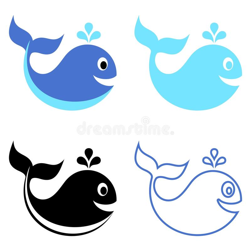 Whales Stock Vector