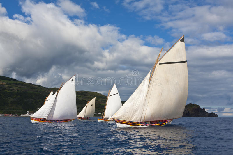 Download Whaling boat regatta race stock image. Image of nature - 26793803