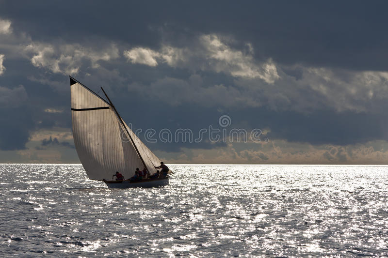 Whaling Boat Regatta Race Stock Photography
