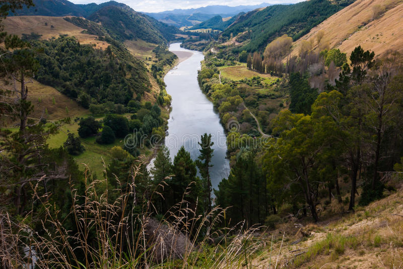 Whanganui rzeka obraz royalty free