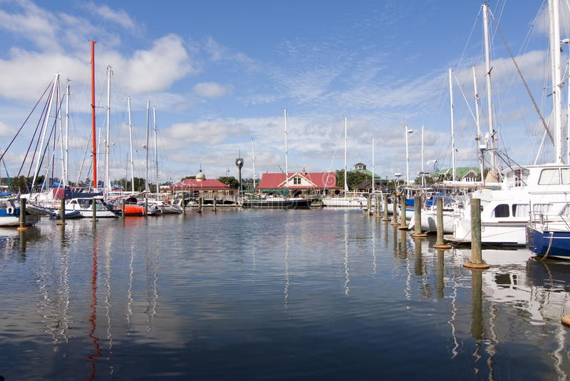 Download Whangarei Town Basin - NZ stock image. Image of quay - 18192233