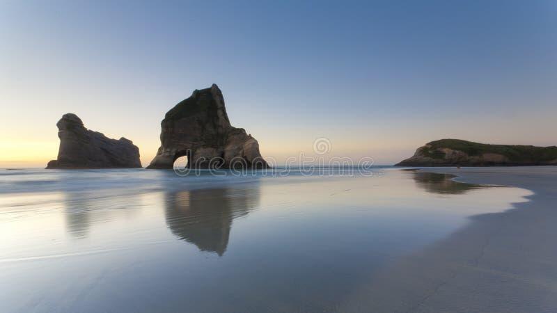Download Wharariki Beach Near Nelson Stock Image - Image: 18972087