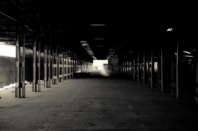 Wharehouse vazio imagens de stock