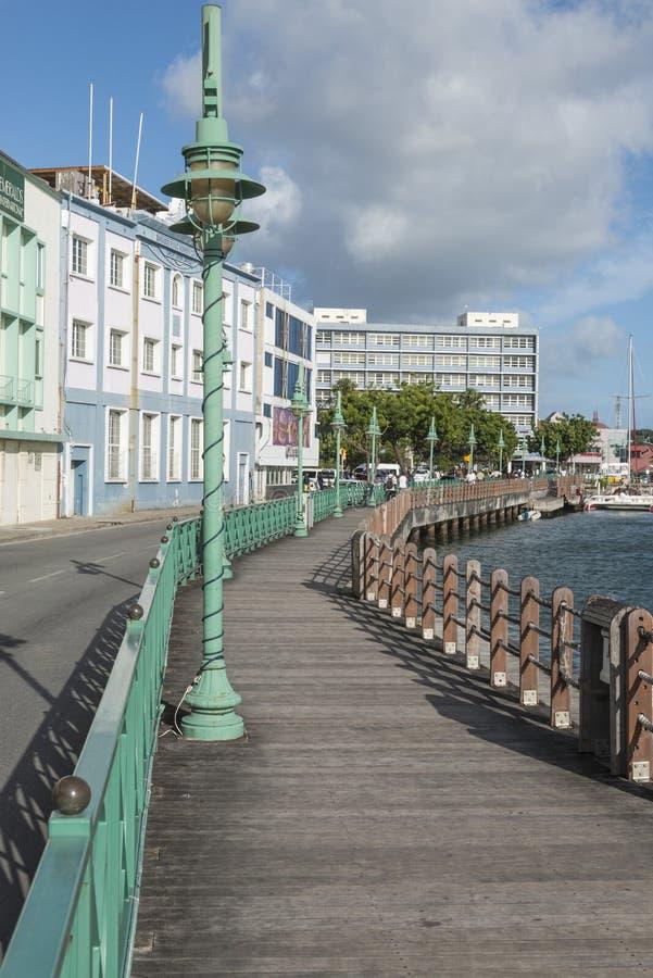 Wharf Careenage Bridgetown Barbados royalty free stock photo