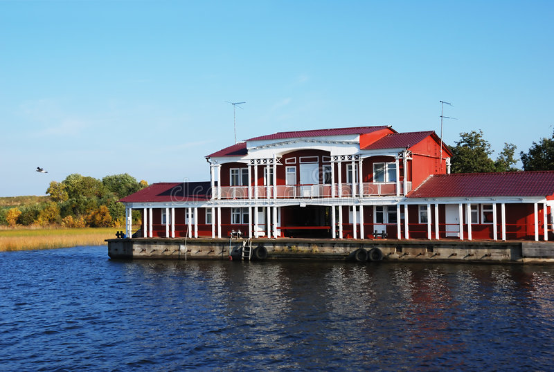wharfboat στοκ εικόνες