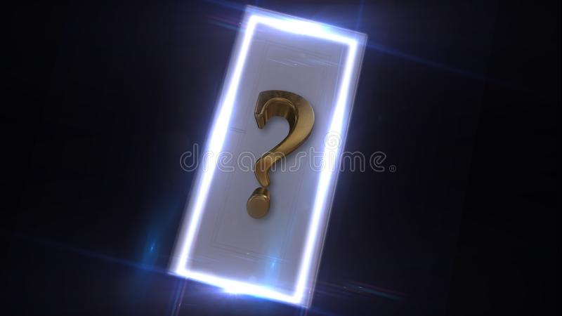 What is behind the door Light passes through the door. Behind the door. Mystery. Mystic.  stock photography