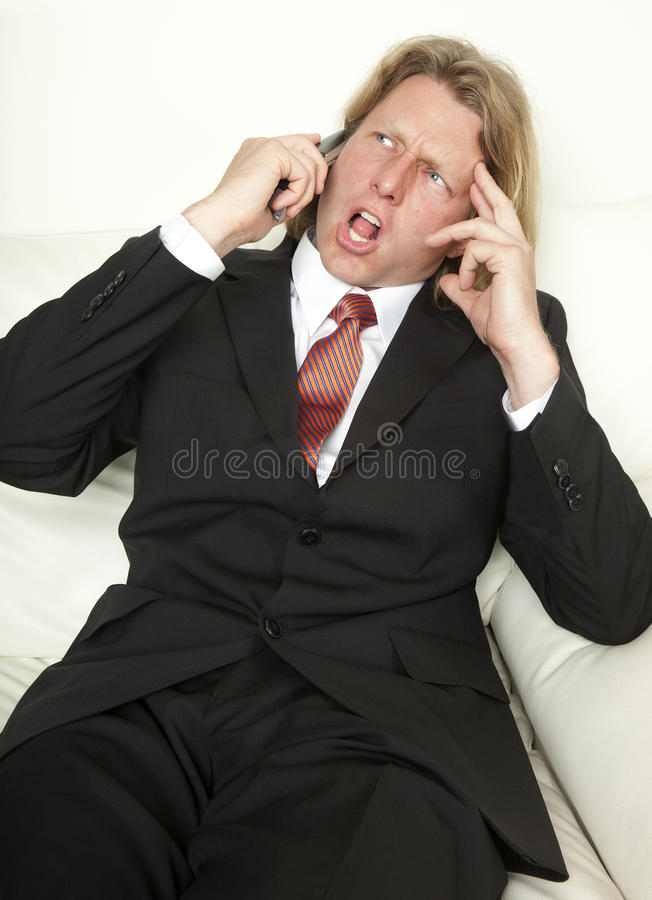 What Did You Say?! stock photo