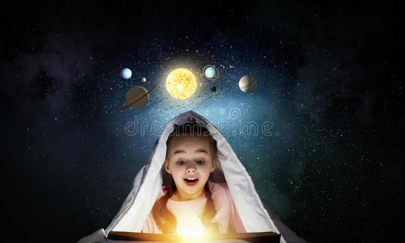 What do you know about space? royalty free stock images
