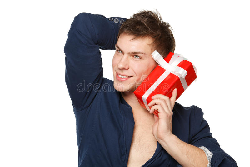 What Is In The Gift Box? Stock Photos