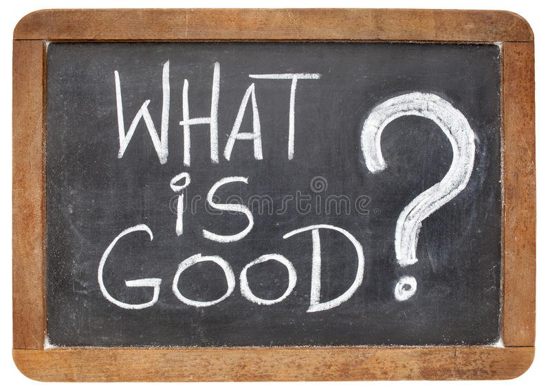 Download What is good question stock photo. Image of chalk, black - 34605468