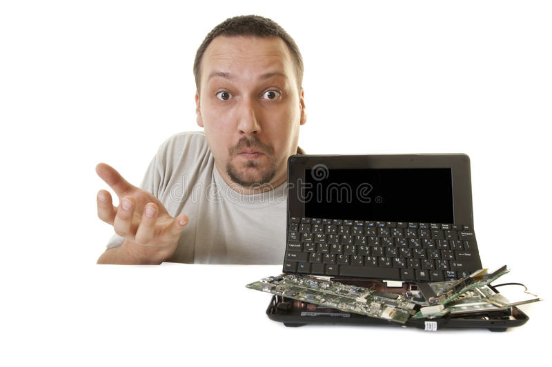 What happened to the computer stock photo