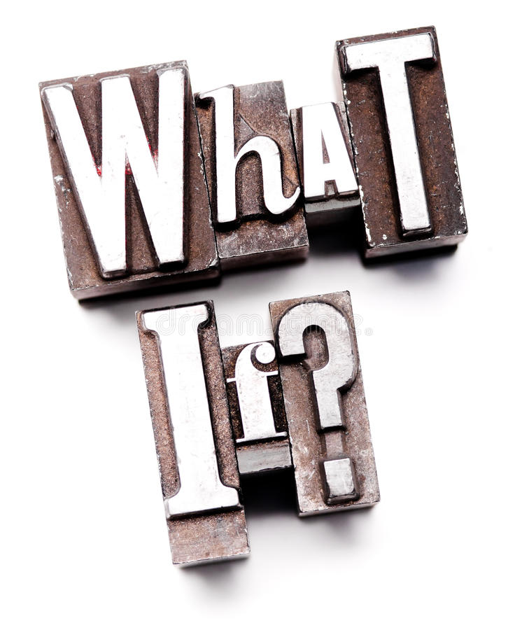 What if? stock photography