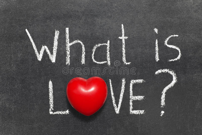 What Is Love Stock Photo Image Of Symbol What Question 45753110
