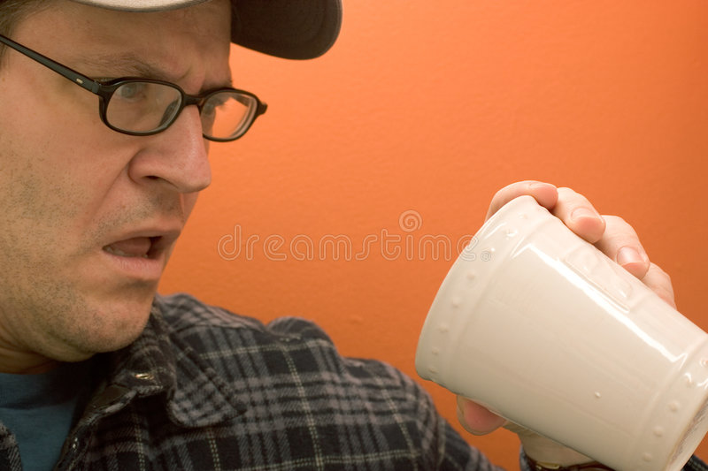 Download What Is That in My Coffee? stock photo. Image of straight - 500044