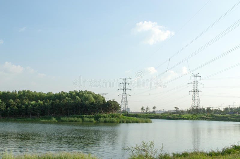 What a nice day in shenyang china. Good weather stock photography