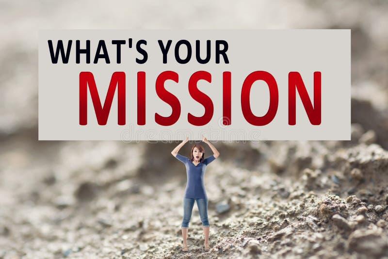 What& x27 s η αποστολή σας στοκ εικόνες