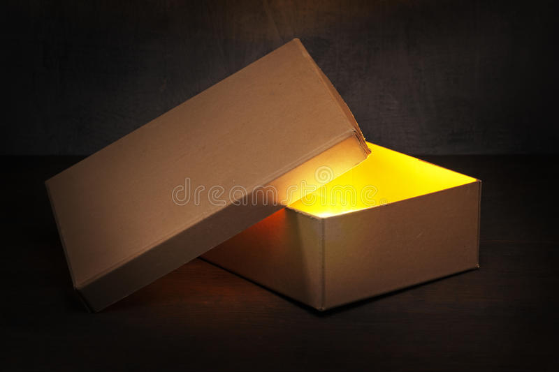 Download What's inside? stock photo. Image of brown, radiant, inside - 16838422