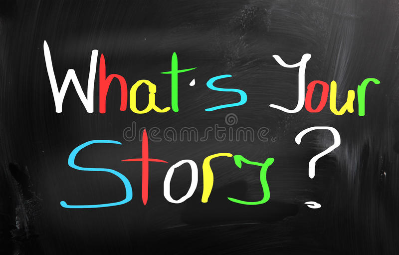 Download What's Your Story Concept stock photo. Image of suggestion - 37257656