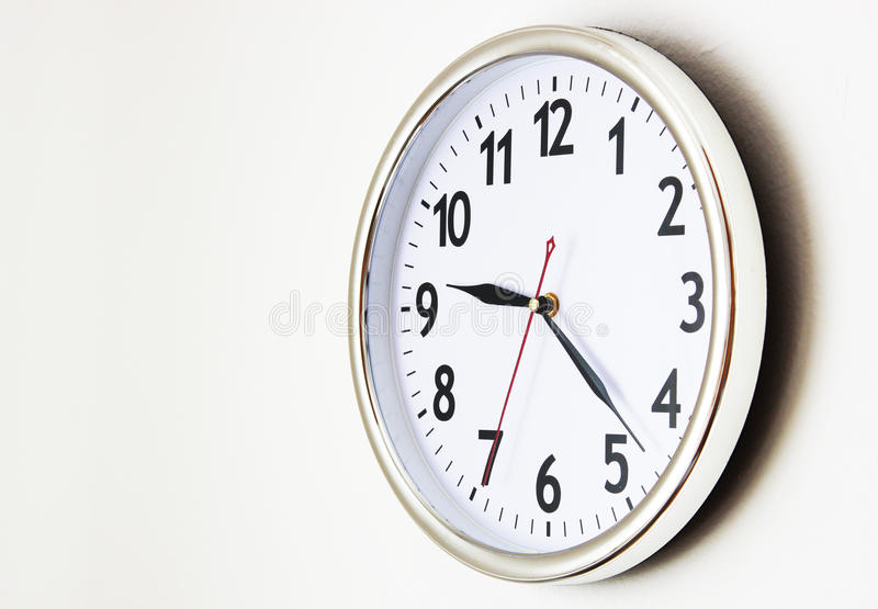What time is it? stock image
