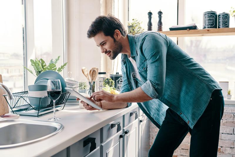 What to cook? stock photos