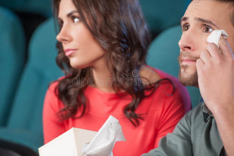 What a wonderful movie! stock photography