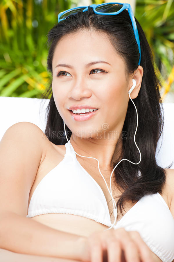 What wonderful music! stock photography