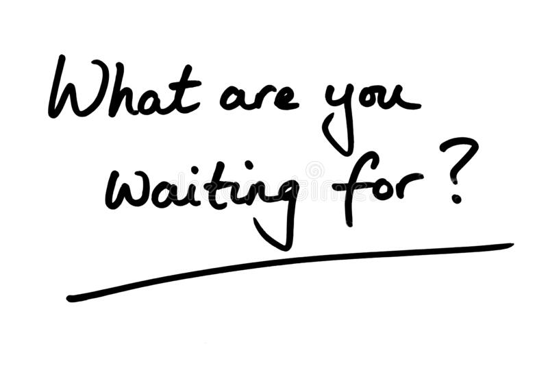 Waiting for You Clip Art