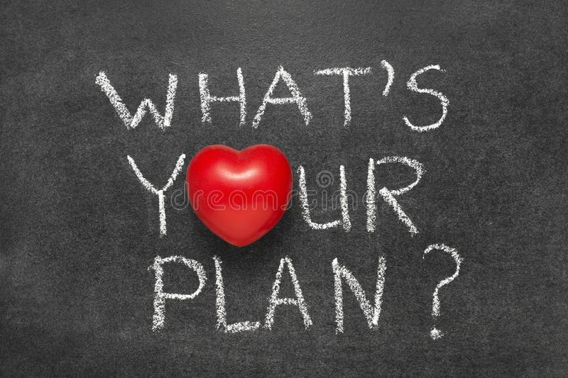What Is Your Plan Stock Photo Image Of Positive Planning 115193148
