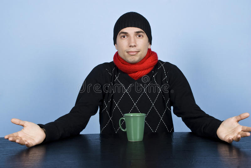Download Whats Going On?Wondering Man Stock Photo - Image: 11994590