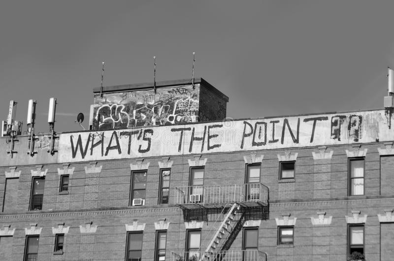 Download Whats the point stock image. Image of building, bronx - 31906683