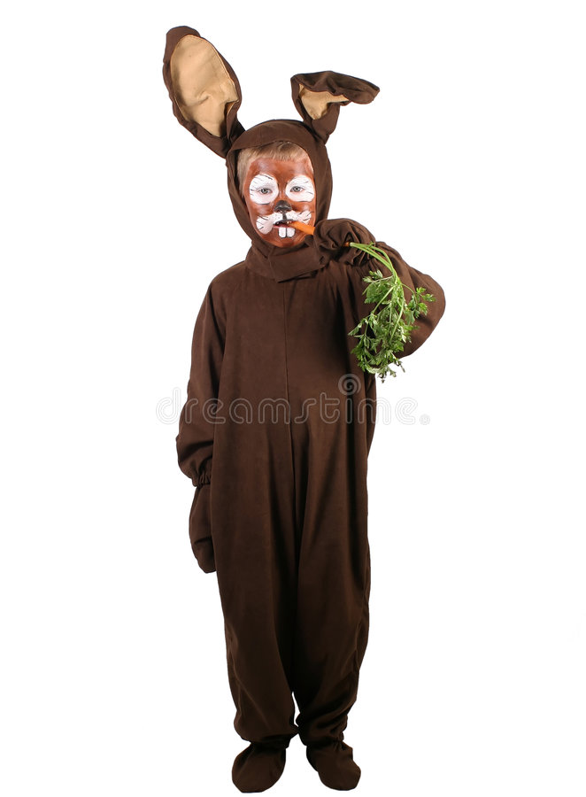 Download Whats Up Doc! stock photo. Image of rabbit, halloween, dress - 485452