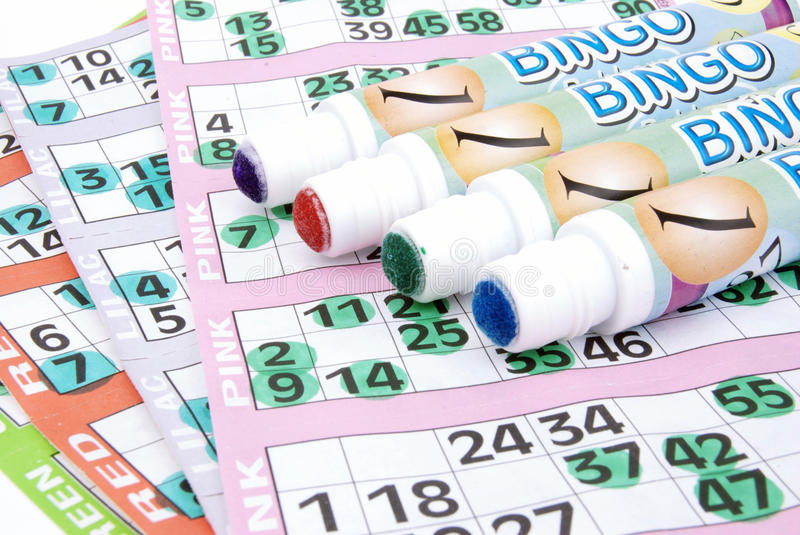 Download Whats Your Lucky Colour Bingo Stock Photo - Image: 14276936