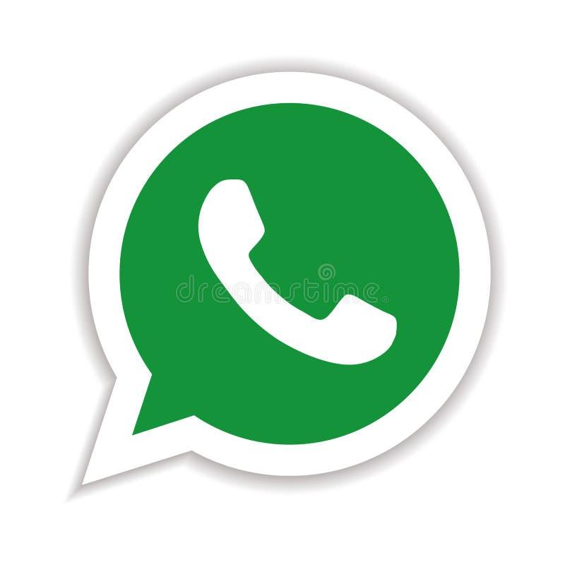 Whatsapp royalty ilustracja