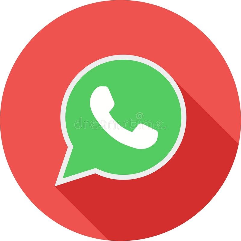 Whatsapp vektor illustrationer