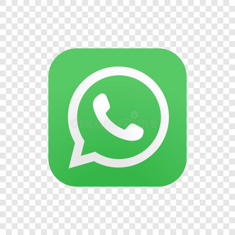 Whatsapp illustration stock