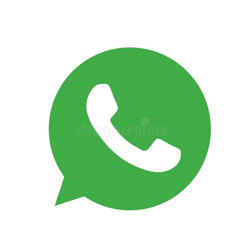 WhatsApp royalty free illustration