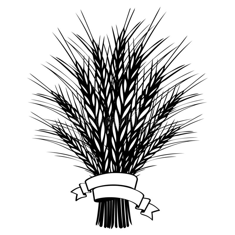 Sheaf Of Wheat And Sickle. Illustration. Royalty Free Cliparts, Vectors,  And Stock Illustration. Image 6900799.