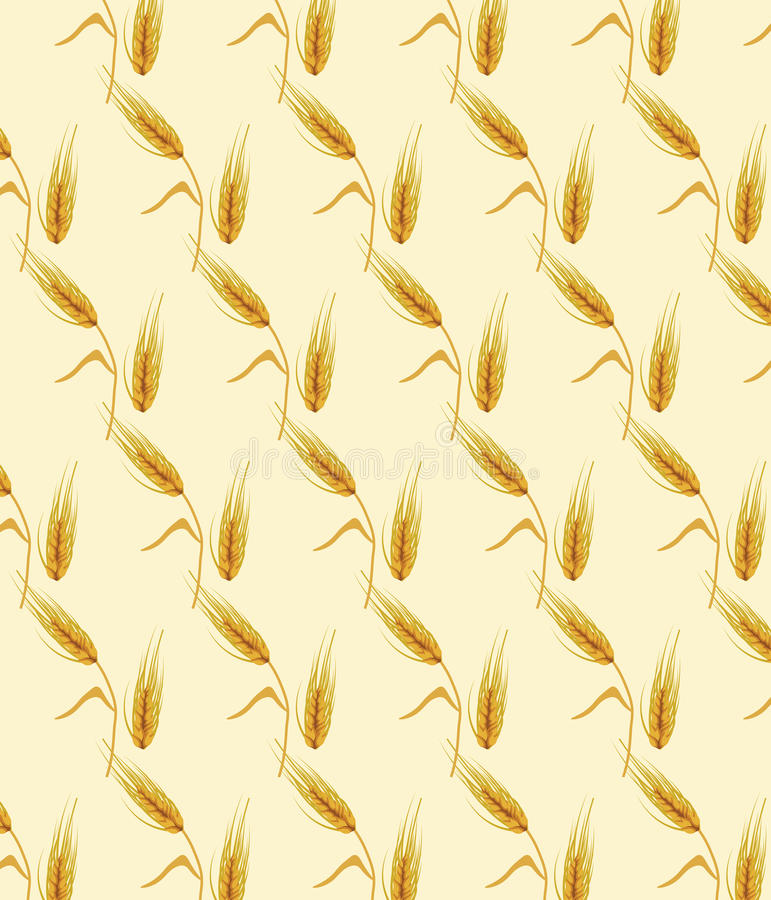 Creative Wheat Labels Stock Vector. Illustration Of