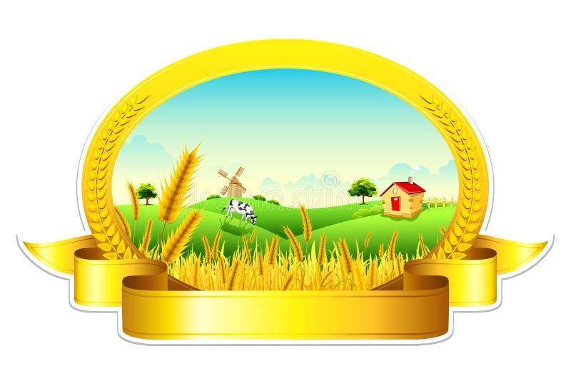 Wheat Farm Stock Image