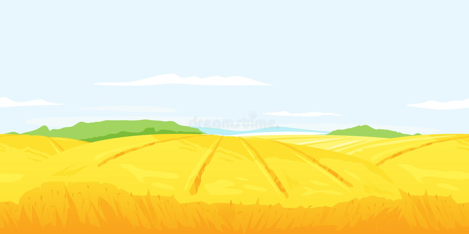 Wheat Field Cliparts, Stock Vector And Royalty Free Wheat Field  Illustrations | Wheat fields, Stock vector, Wheat
