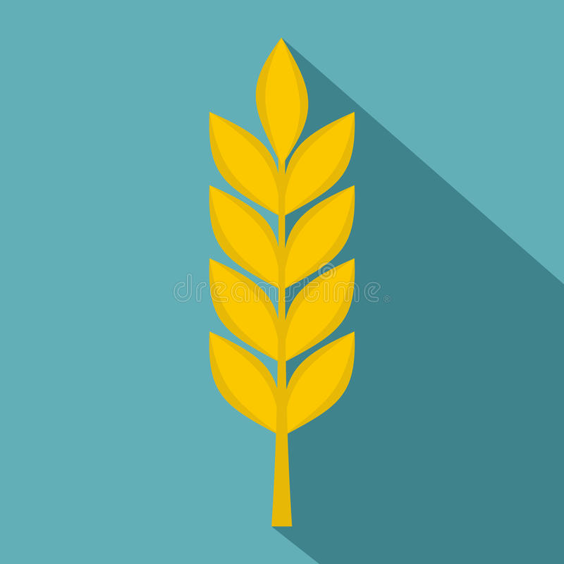 Free Wheat Spike Icon, Flat Style Stock Photos - 86387543