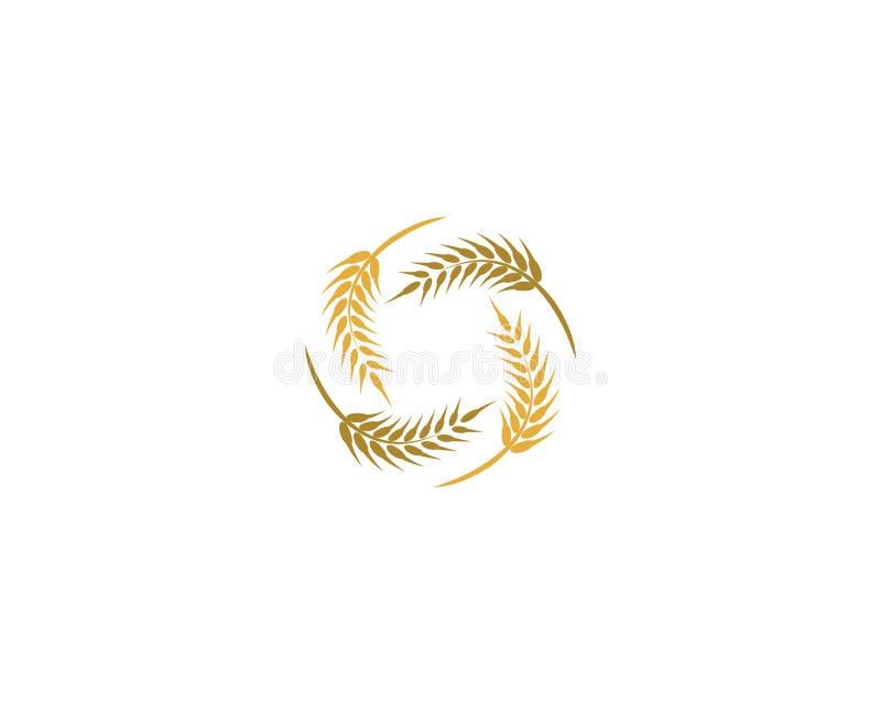 Wheat vector icon royalty free illustration