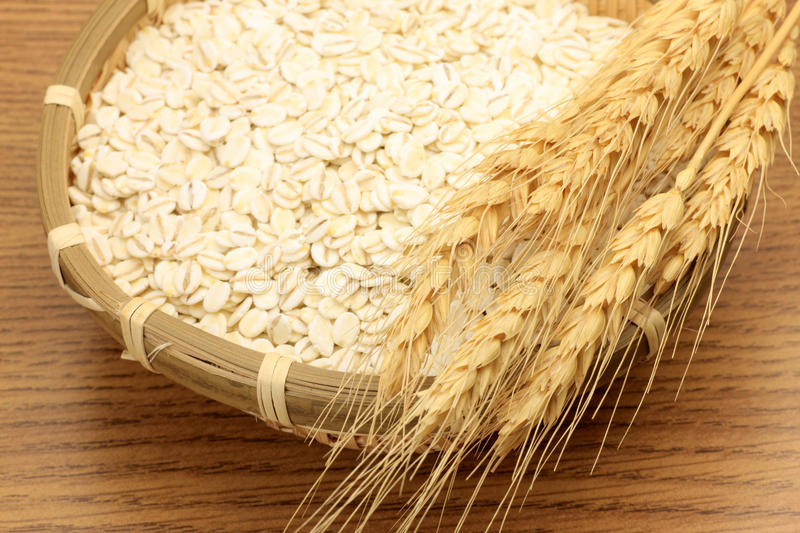 Wheat And Wheat Ear Royalty Free Stock Photo