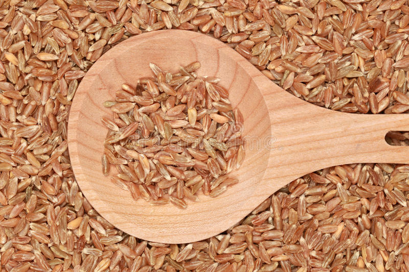 Download Wheat On A Wooden Spoon Stock Images - Image: 26575594