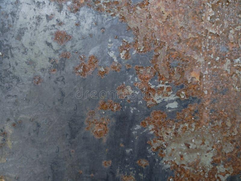 Wheathered-Rost und verkratzte Stahlbeschaffenheit nützlich für Hintergrund stockbild
