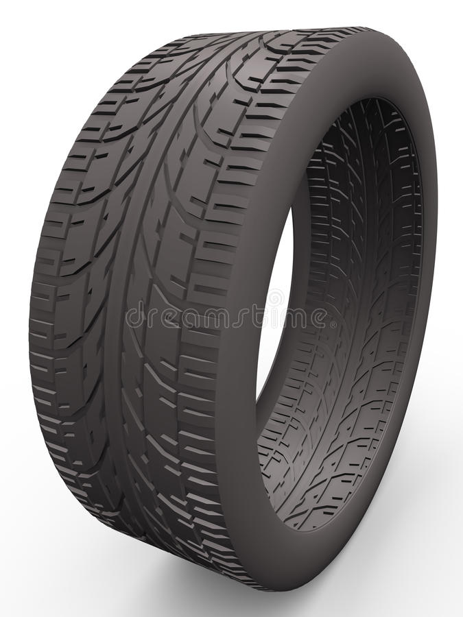 Download Wheel stock illustration. Image of grip, isolated, object - 19034836