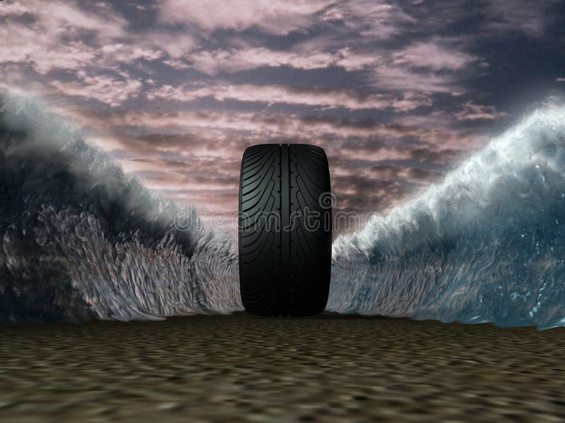 Download Wheel stock illustration. Image of polish, change, motion - 3808060