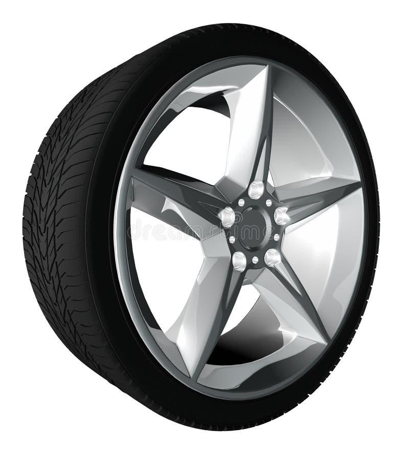 Wheel royalty free illustration